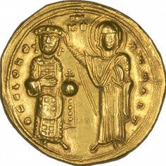 Fordított bizánci arany Solidus