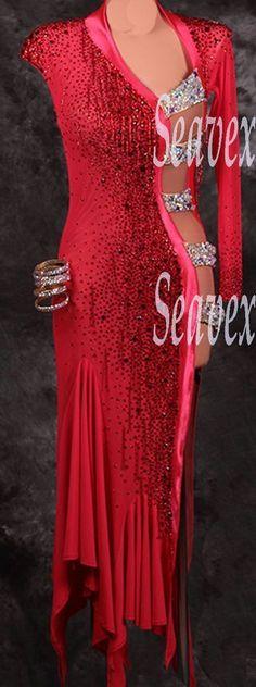 K3101 Evening party ballroom latin chacha salsa samba rumba dance dress UK 4 | Clothes, Shoes & Accessories, Dancewear & Accessories, Women's Dancewear | eBay!