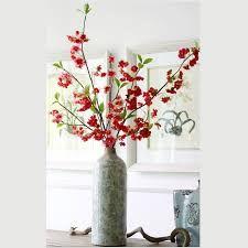 white silk cherry blossom centerpiece | artificial flower