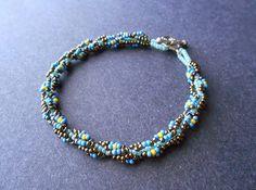 Floral Spiral Rope Bracelet