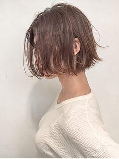 [SHIMA/安藤圭哉] 切りっぱなしショートボブ - 24時間いつでもWEB予約OK!ヘアスタイル10万点以上掲載!お気に入りの髪型、人気のヘアスタイルを探すならKirei Style[キレイスタイル]で。
