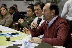 """Gerente de Colombia Humanitaria, Everardo Murillo, en videoconferencia sobre """"La importancia de la gestión del riesgo en Colombia"""" junto al director del SENA, Luis Alfonso Hoyos Aristizábal"""
