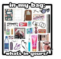 """""""In My Bag"""" by todahjesus ❤ liked on Polyvore featuring MCM, Vivitar, Chanel, Charlotte Tilbury, GHD, Parker, Goody, Corinne McCormack, CB2 and Skullcandy"""