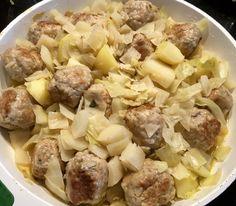 Gołąbkowa patelnia - pyszne danie jednogarnkowe! - Blog z apetytem Dip Recipes, Pork Recipes, Recipe For Success, Polish Recipes, High Tea, Potato Salad, Lunch Box, Food And Drink, Menu