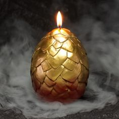 Dragon Egg Candles - These Egg-Shaped Candles Melt to Reveal a Baby Dragon (GALLERY)