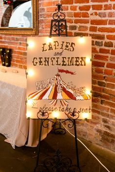A Whimsical Circus Wedding at Inn at the Old Silk Mill in Fredericksburg, VirginiaYou can fin. Vintage Circus Party, Circus Theme Party, Carnival Wedding, Circus Birthday, Vintage Carnival, Birthday Parties, 50th Birthday, Prom Themes, Carnival Themes