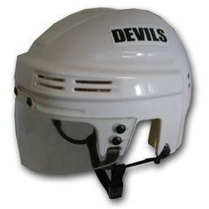 Franklin Sports 74010F07E2 NHL Helmet New Jersey Devils Mini Player