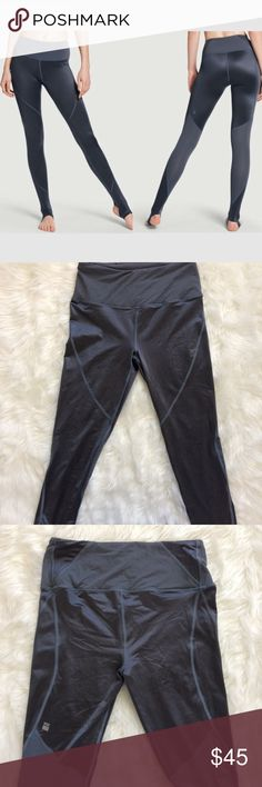 VSX Black Pearl Sleek High Rise Stirrup Tight Size Small . Excellent Condition . Nearly New Victoria's Secret Pants Leggings