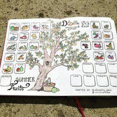 Je poursuis doucement le challenge d'août, en dessinant parfois des fruits que je n'ai jamais goûté  ! #doodlewithusinaugust2017 #doodlewithusinaugust #bulletjournalfrançais #bulletjournal #bulletjournaling #bulletjournalfr #bujojunkies #bujoinspire #bujobeauties #bujo #planninginspiration4u #showmeyourplanner #fruit #showmeyourbujo #fruits