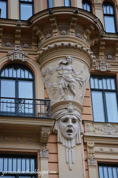 Art Nouveau Buildings in Riga