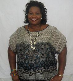 blouses for + sized women | Women's Shirts | Plus Size Women's Blouses & Tops | Full Figured Women ...