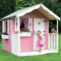 Pink Heart Playhouse #playhouse