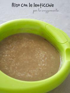 riso con lenticchie svezzamento