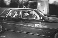 Phil Alderisio (driving) & Sam Battaglia with wives leaving Accardo's daughter's wedding.