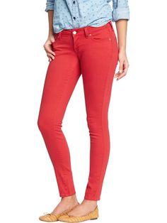 Old Navy | Women's The Rockstar Skinny Pop-Color Jeans