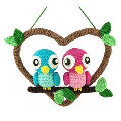 Häkelanleitung Liebesvögel - Sabrina's Crochet