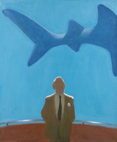 Master Spy by Julio Larraz. Love his work.