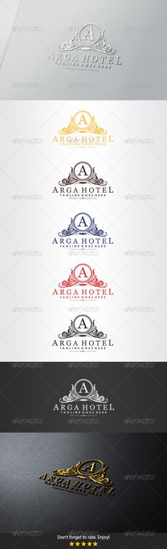 Arga Hotel Logo — Vector EPS #classic #government • Available here → https://graphicriver.net/item/arga-hotel-logo/5458806?ref=pxcr