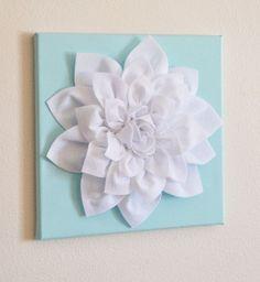 Beautiful 3-D Flower Wall Art