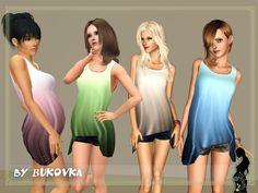maternity clothing pregnant  bukovka's Tunic with Shorts