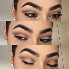 Simple Matte Brown Everyday Makeup
