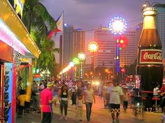 Baywalk, Manila Bay Regions Of The Philippines, Uk Visa, Vigan, Street Lamp, Old World Charm, Filipina, Cebu, Manila, Places Ive Been