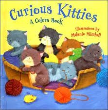Curious Kitties: A Color Book illus. by Melanie Mitchell book jacket