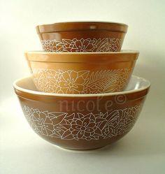 Woodland NIB Bowls