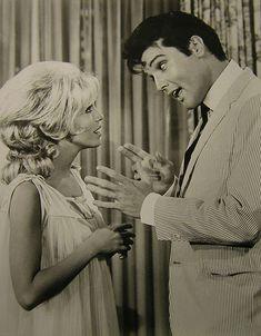 Nancy Sinatra and Elvis Presley in 'Speedway', 1968.