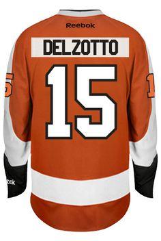 Michael Del Zotto Philadelphia Flyers NHL Home Reebok Premier Hockey Jersey  CoolHockey 81f966cae