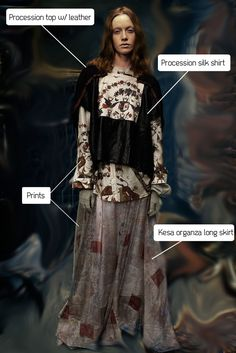 Gary Graham. Spring 2016. Look-04. The Courtesan Macabre liked this collection.