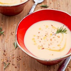 A super creamy and delightful parsnip soup with sweet potatoes, white wine and coconut milk. Both vegan and gluten-free. I need soup in my life right now.