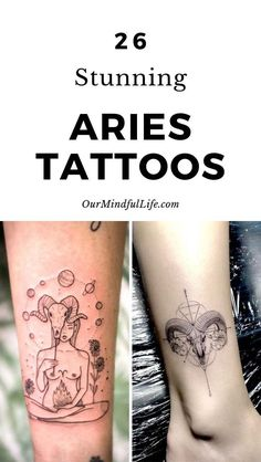 26 Aries Tattoos That Are As Fiery As You Are – Our Mindful Life, – Constellation Tattoo Aries Symbol Tattoos, Aries Zodiac Tattoos, Aries Ram Tattoo, Aries Constellation Tattoo, Astrology Tattoo, Symbolic Tattoos, Celtic Tattoos, Red Ink Tattoos, Tribal Sleeve Tattoos