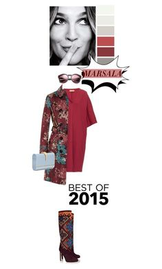 """""""The best of 2015"""" by drigomes ❤ liked on Polyvore featuring Brian Atwood, Burberry, Valentino, women's clothing, women's fashion, women, female, woman, misses and juniors"""