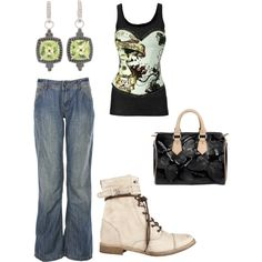 Simple, created by #sarah-bear-sivers on #polyvore. #fashion #style #Vince #CABARET