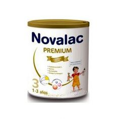 Novalac Premium 3. Preparado lácteo para niños de 1 a 3 años que aporta los elementos indispensables para cubrir, dentro de una dieta diversificada, las necesidades nutricionales y energéticas de los niños.