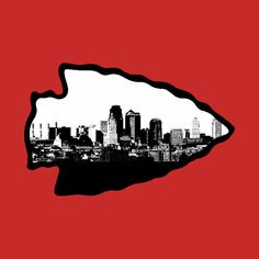 Check out this awesome 'Kansas+City+Skyline+Chiefs+Logo' design on @TeePublic!