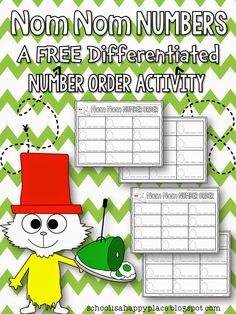 FREE Dr. Seuss Inspired Differentiated Math Activity (Number Sense)