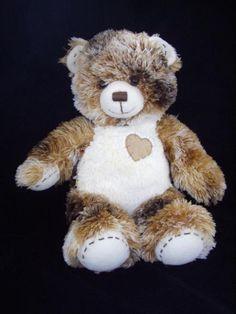 "Brown Aviation Theme Plush Doll 8/"" Vintage Pilot Teddy Freda Bear"