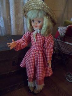 1960's Vintage Pollyanna Doll Walt Disney by mementocollectables