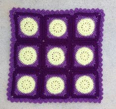 "Ravelry: Project Gallery for Nana's ""Granny Circle Square"" pattern by Des Maunz"