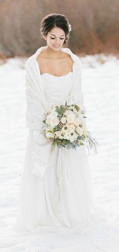 Idées créatives pour votre mariage en hiver Plus