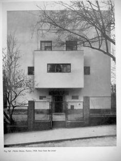 casa moller 1927 starkfriedgasse 19 viena architektur pinterest architektur bauhaus und. Black Bedroom Furniture Sets. Home Design Ideas