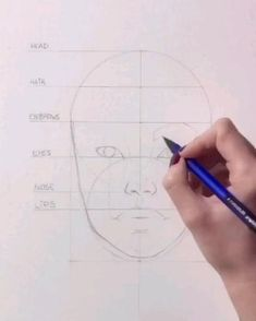 Art Drawings Sketches Simple, Pencil Art Drawings, Cool Drawings, Face Proportions, Nose Drawing, Indian Art Paintings, Sketches Tutorial, Art Reference Poses, Learn Sketching