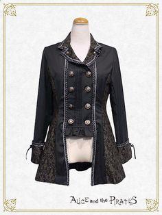 Alice and the Pirates ALICE's nostalgic time travel jacket