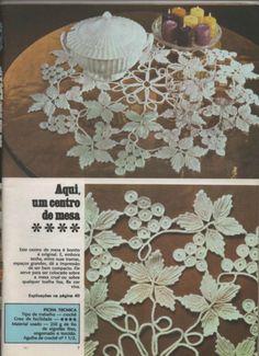 Gallery.ru / Фото #12 - croche - yeditepe Crochet Potholders, Crochet Granny, Irish Crochet, Crochet Doilies, Crochet Tops, Crochet Patterns Filet, Crochet Designs, Crochet Toddler Dress, Point Lace