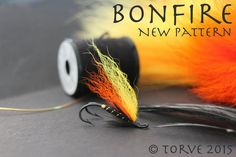 Bonefire Salmon Hook Fly. Pattern and tying by Torve