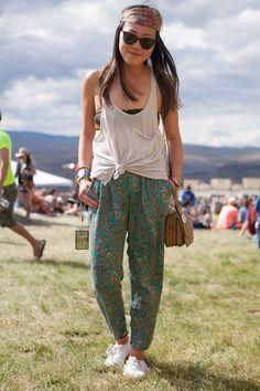 Sasquatch's Stylish Show-Goers Flaunt Serious Festival Fashion | Teen Vogue