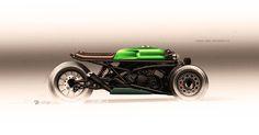 Can-Am F3 Spyder Custom render. on Behance