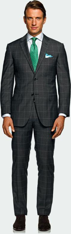 Suit Supply Napoli Window Pane $469